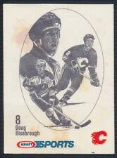 1986-87 Kraft Sports Hockey Card Doug Risebrough