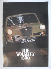 WOLSELEY 1300 MK.II SALOON orig 1972 UK Mkt Sales Brochure - #2852/C