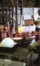 Fenton Glass Blower Factory  Lamp Shade Mold Original 1974 Kodak 35mm Slide