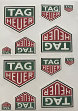 Autocollants stickers Tag heuer