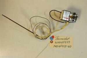 MAGIC CHEF   STOVE W10125459  7404P031-60   Thermostat  USED