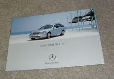 Mercedes C Class Estate Prices 2003 C32 AMG C180 C200 C220 C270 CDI Avantgarde
