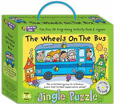 MUSIC FOR KIDS JINGLE PUZZLE THE WHEELS ON THE BUS + SING ALONG 12 SONG CD