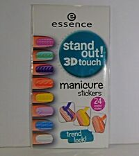 Essence Stand out! 3D touch manicure stickers, Nagel Sticker