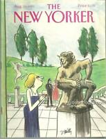 New Yorker Magazine August 19, 1991 Journals by John Cheever and Brendan Gill