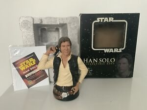 Gentle Giant Star Wars Han Solo Collectible Mini  Bust