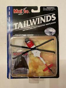 Maisto Tailwinds U.S. Coast Guard HH-60J JAYHAWK Helicopter Diecast Metal Toy