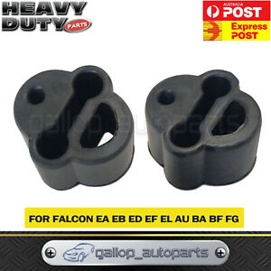 Rubber Exhaust Mount for Ford Fairlane Fairmont Falcon Territory AU BA EA EB x 2