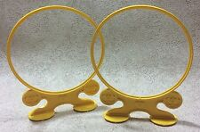 Vintage My Little Pony Dream Castle Hoop Lot of 2 Yellow Replacement Accessories