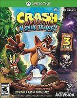 Crash Bandicoot: N. Sane Trilogy (Microsoft Xbox One, 2018) Opened Never Played