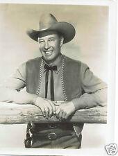 Wild Bill Elliott Actor Vintage 1940's  Portrait Photograph 10 x 8