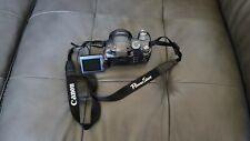 Very Nice Canon PowerShot S3 IS 6.0MP 12X Optical Zoom Digital Camera - Black