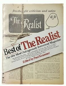 Paul Krassner: Best of The Realist FIRST EDITION