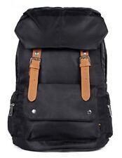 BLACK Nylon Backpack School Bag!Cute & Stylish in Great Quality