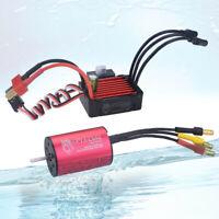 Für 1/18 1/16 RC Car Wasserdichter Combo 2435 4500KV Brushless Motor mit 25A ESC