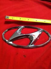 2004 HYUNDAI SANTA FE REAR CHROME EMBLEM  DECAL BADGE 01 02 03 04 05 06 (259)