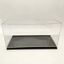 Model Car Acrylic Case Display Box Transparent Dustproof Gift 1:18 Scale Toys