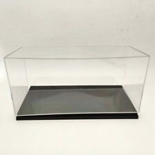 Model Car Acrylic Case Display Box Transparent Dustproof Gift 1:18 Scale 34cm