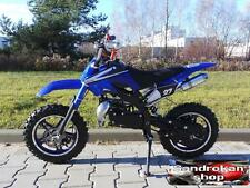 Minimoto Cross SKM Plus UD pit bike 2 tempi blue minicross