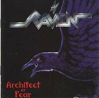 RAVEN - ARCHITECT OF FEAR (1991) =RARE CD= Jewel Case+FREE GIFT Heavy Metal
