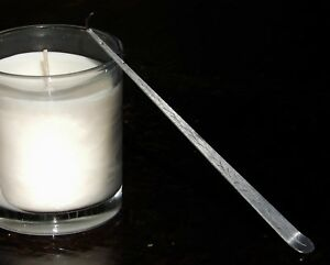 CANDLE WICK DIPPER Quality Polished Stainless Steel & Beautifully Engraved Gift