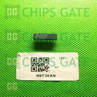6PCS N8T26AN Encapsulation:DIP-16,N-Channel PowerTrench MOSFET