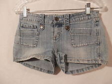 YMI Denim Short Shorts size 3  Pre washed Style S24888-RD