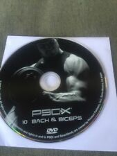 P90x Replacement Disc 10 Back and Biceps - Tony Horton Beach Body