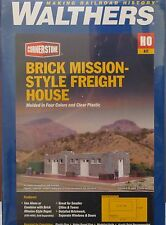 Walthers HO Scale CornerStone Series Brick Mission Freight House Kit 933-4056