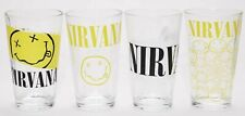 Nirvana 4 Piece Pint Glasses Glassware Set New In Box