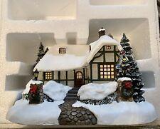 Thomas Kinkade Christmas Hawthorne Village - Christmas Cottage