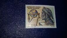 Francobollo Italia Repubblica 1990 n.1956 Cat.Unificato MNH Centenario Soc Dante