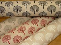 """Mulberry Tree"" Linen Cotton Fabric - Curtain Upholstery Quilting Craft Blinds"