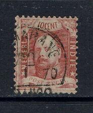 "NETHERLANDS INDIES 1868 #2 xfu ""K. WILLIAM IIIrd"" E396f"