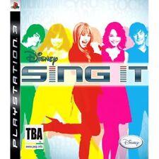 Disney Sing It! PS3 KARAOKE Solus GAME BRAND NEW UK Original Miley Camp Rock etc