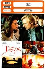 DEUX - Detmers,Depardieu,Cluzet,Zidi (Fiche Cinéma) 1989 - Two