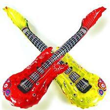 Bulk Wholesale Job Lot 72 Inflatable Foil Guitars Toys