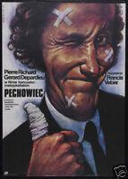 La chevre Gerard Depardieu vintage movie poster print