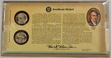 "2004 ""Keelboat"" P & D Jefferson Nickels, Sealed US Mint Issued, BU, UNC Coins"