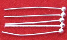 FREE SHIP 200pcs Silver plated ball head pin findings 16mm JK0333