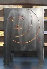 Feuerkorb Mond 400 x 400 aus Edelstahl Serie Coybo Feuerschale Gartenfeuer