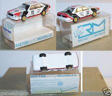 MICRO RIETZE HO 1/87 AUDI V8 N°44 RALLYE STUCK IN BOX
