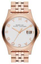 Marc Jacobs Women's Rose Gold Bracelet Watch,  Date, 50 Meter WR,  MBM3392