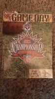 1/11 1998 PITTSBURGH STEELERS DENVER BRONCOS AFC CHAMPIONSHIP GAME PROGRAM NM