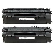 2 PK 53X-MICR TONER HP LaserJet P2015x P2015n P2015dn P2015d P2015 P2014n P2014