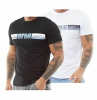 Mens 883 Police Stylish Printed Cotton Crew Neck T Shirt Sizes from S to XXL