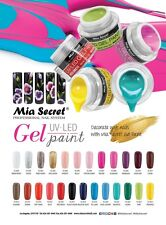 Mia Secret Nail Gel UV LED Paint 28 Color available NEW COLORS ADDED