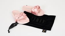 Puma x Fenty by Rihanna Bow Slide Slipper Sandal Pink Shell Silver