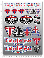 Motorcycle stickers set 20 decals Daytona 675 speed triple 1050 Tiger sprint R