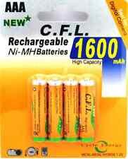 4X Akku AAA wiederaufladbar 1600mAh NI-MH Batterie Accu Akku 4 Stück